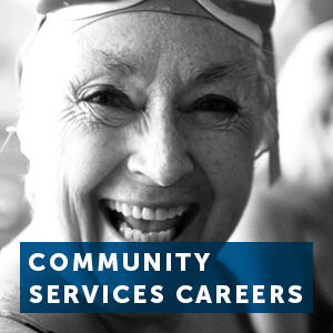 Find out about a career in community services work