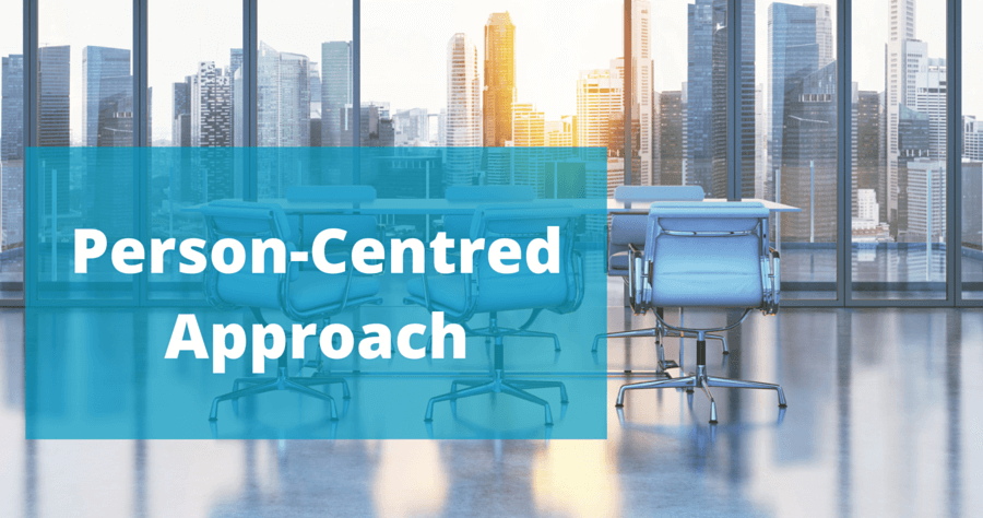 person centered approach is all what Person centered planning views the entire person not just the portion of the person that has identified needs in simple terms, person centered planning is an approach to forming life plans that are centered on the individual for whom they are built.