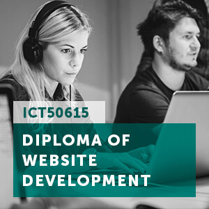 View the ICT50615 diploma of website development