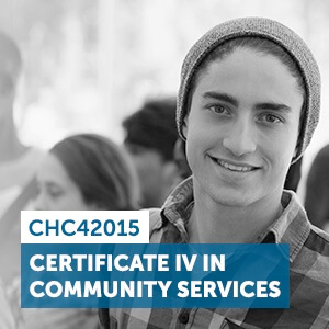 View our CHC42015 Certificate IV in Community course