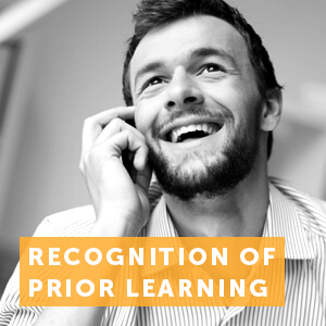 Get recognition of your prior learning