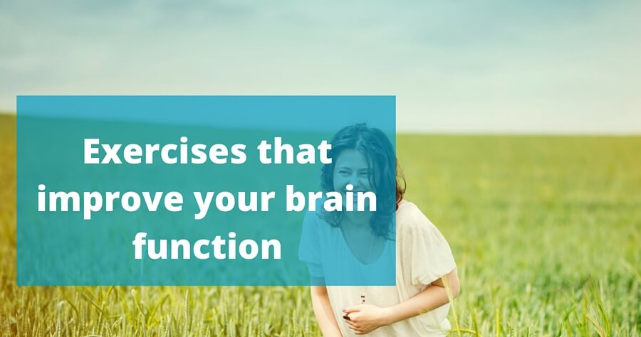 Exercises that improve your brain function