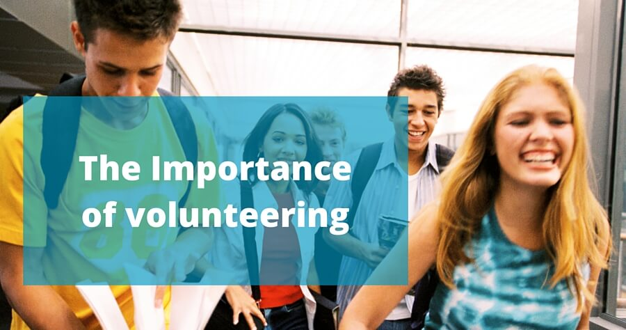 the importance of volunteering in your community essay Our service can write a custom essay on volunteering children from the local community would arrive at the mosque reflective essay on volunteering essay on.