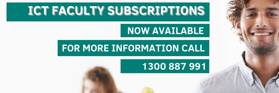 ICT FACULTY SUBSCRIPTIONS