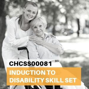 CHCSS00081 Induction to Disability Skill Set Course Tile